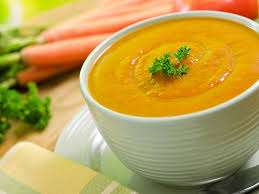 Goodness of carrot soup